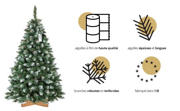 FairyTrees sapin artificiel caractéristique