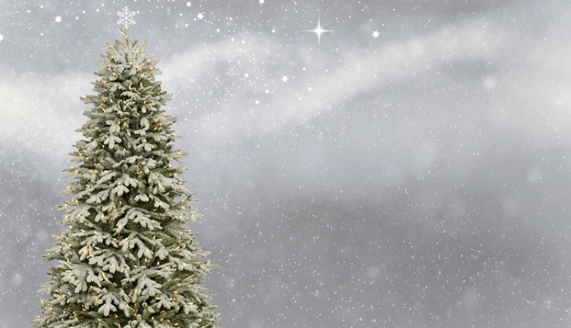 Comment nettoyer un sapin artificiel blanc ?